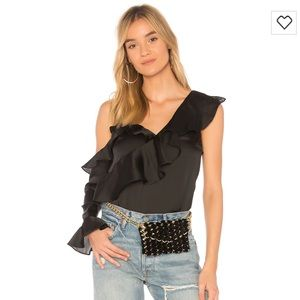 Lovers + Friends Jude Top Black